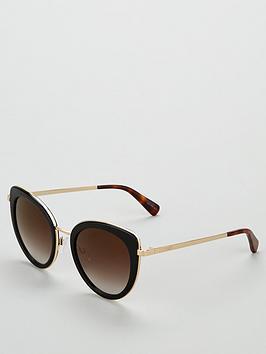 love-moschino-cateyenbspmetal-sunglasses-blackgold
