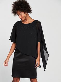 wallis-embellished-overlayer-dress-blacknbsp