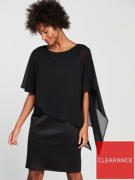 wallis-embellished-overlayer-dress-blacknbsp