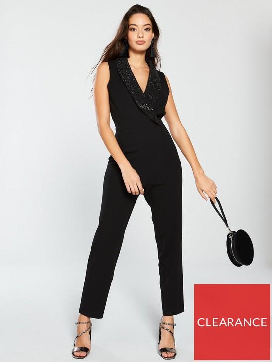 d4efa9617d8 Wallis Tuxedo Jumpsuit - Black