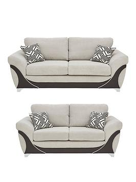 diaznbspfauxnbspleather-and-fabric-3-seater-2-seater-sofa-buy-and-save