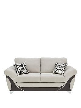 diaznbspfabric-and-faux-leather-2-seater-sofa