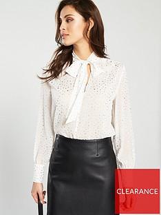 warehouse-sheer-star-blouse
