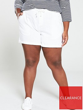 v-by-very-curve-curve-linen-mix-short-white