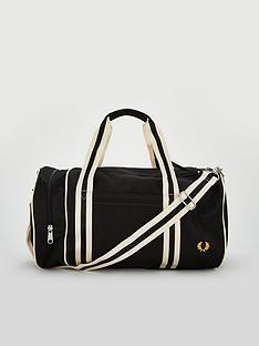 fred-perry-twin-tipped-barrel-bag