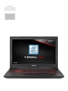 Asus TUF FX504GM-EN366T Intel® Core™ i7HProcessor, 6Gb GTX1060Graphics, 16Gb RAM, 1Tb HDD + 256Gb, 15.6 inch120Hz Gaming Laptop with Bag