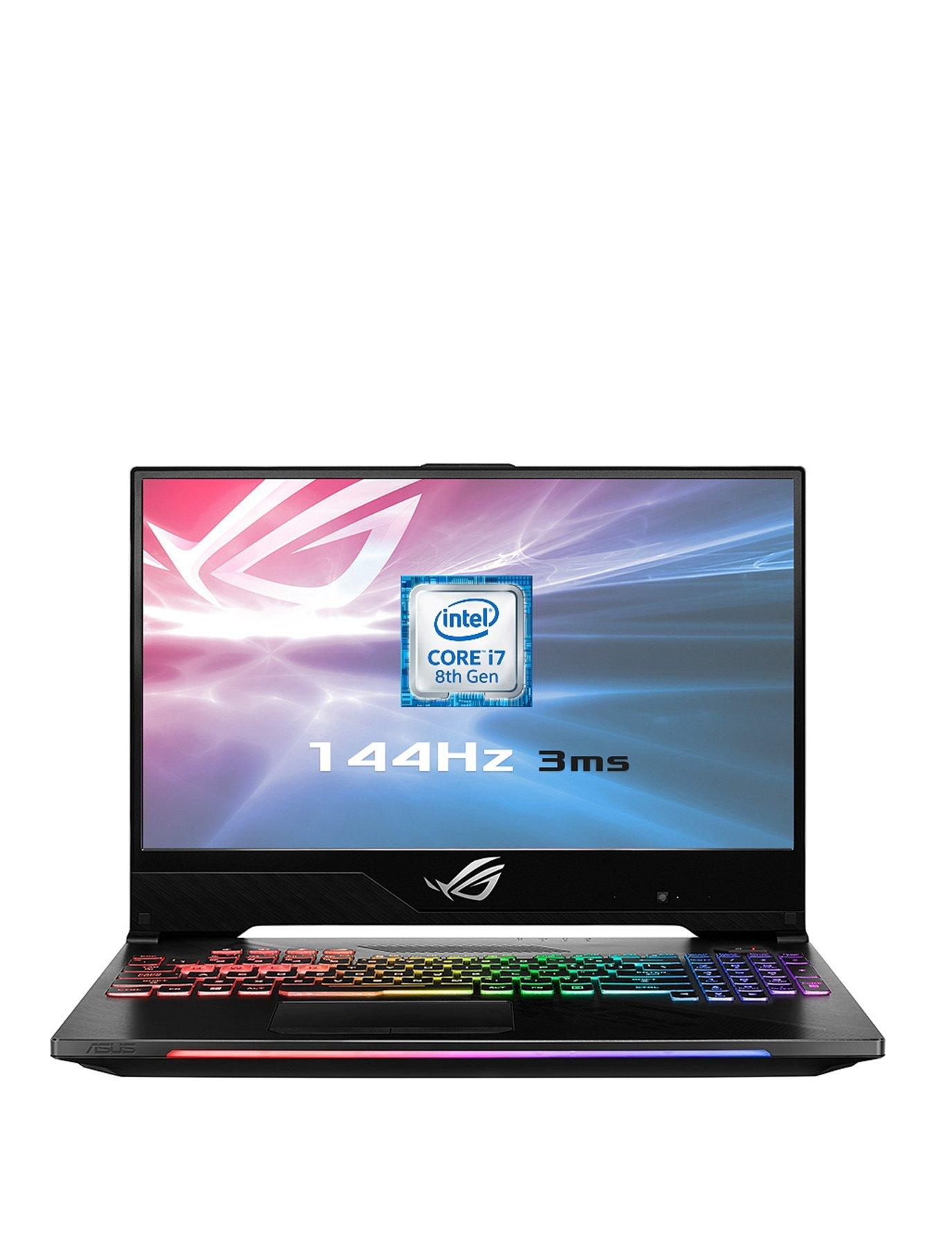 Asus ROG Strix Hero 2 GL504GM-ES192T Intel Core i7H, GeForce GTX 1060 6GB, 16GB RAM, 1TB SSHD & 256GB SSD, 15.6in IPS 144Hz Gaming Laptop with Bag & Headset + Call of Duty Black Ops 4