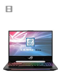 asus-rog-strix-hero-2-gl504gm-es192t-intel-core-i7h-geforce-gtx-1060-6gb-16gb-ram-1tb-sshd-amp-256gb-ssd-156in-ips-144hz-gaming-laptop-with-bag-amp-headsetnbsp
