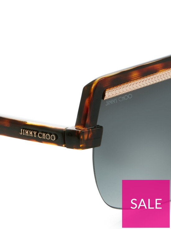 3844ac9ae8cb ... Jimmy Choo Tort Extreme Shield Sunglasses. 5 people have looked at this  in the last couple of hrs.
