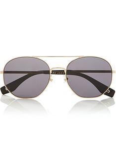 marc-jacobs-squared-aviator-sunglassesnbsp--blackgold