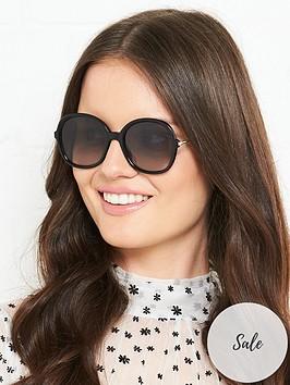 max-mara-oversized-round-sunglasses-black