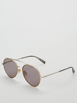 max-mara-grey-round-sunglasses
