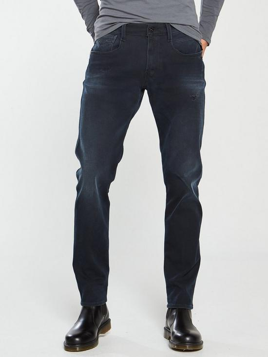 30eb48de4c8 Replay Anbass Slim Hyperflex Plus Jeans | very.co.uk