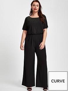 evans-sparkle-hot-fix-jumpsuit-blacknbsp