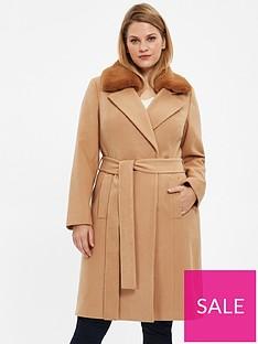 evans-faux-fur-collar-coat