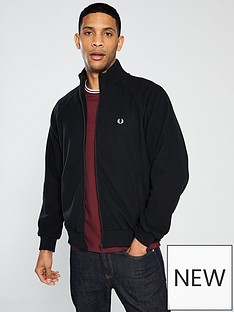 fred-perry-fleece-track-jacket