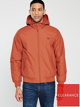 fred-perry-padded-brentham-jacket-paprika