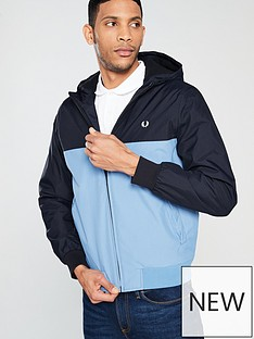 fred-perry-hooded-panelled-jacket