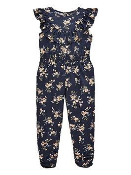 mini-v-by-very-girls-floral-jumpsuit-navy