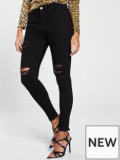v-by-very-ella-high-waisted-thigh-rip-skinny-jeans-black