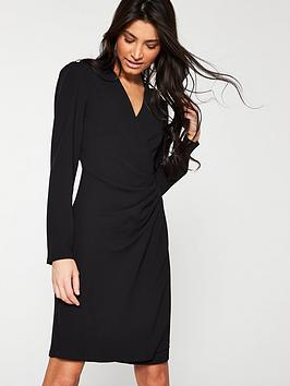 v-by-very-formal-wrap-tunic-black