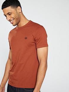 fred-perry-ringer-t-shirt-paprika