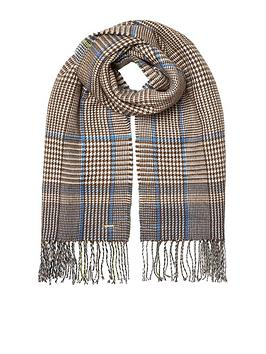 river-island-river-island-double-sided-check-scarf--multi