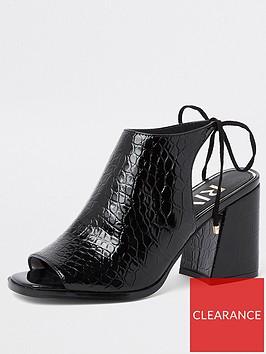 river-island-river-island-croc-detail-block-heeled-sandals--black