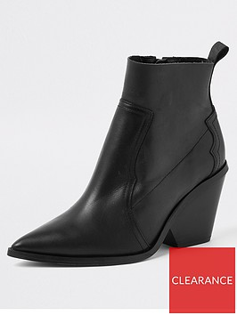 river-island-river-island-premium-leather-western-boots--black