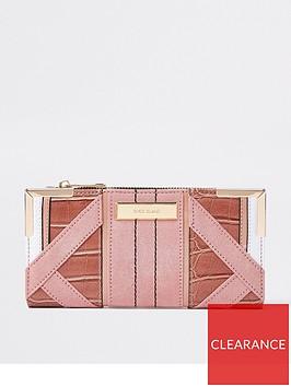 river-island-metal-corner-purse--pink