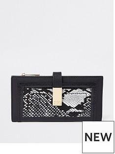 river-island-river-island-snake-detail-foldout-purse--multi