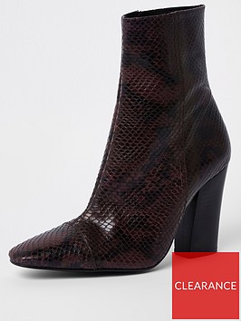 river-island-premium-snake-detail-leather-boots-oxblood