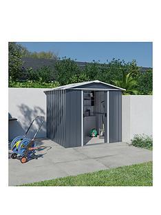 yardmaster-6ftnbspx-7ft-castleton-apex-roof-metal-shed