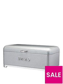 kitchencraft-nbsplovello-bread-bin-in-shadow-grey-ndash-42-x-22-x-18-cm