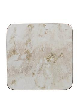 creative-tops-grey-marble-premium-printed-drinks-coasters-with-cork-backnbsp-greywhite-set-of-6