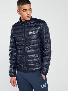 137a30618324f EA7 Emporio Armani Core ID Down Jacket - Night Blue