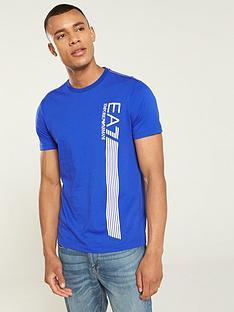 ea7-emporio-armani-7-lines-t-shirt-surf-the-web-blue