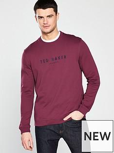 ted-baker-30thnbspanniversary-sweatshirt-dark-red
