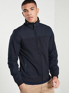 ted-baker-long-sleeve-funnel-neck-jacket-navy