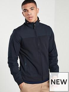 ted-baker-long-sleeve-funnel-neck-jacket-navy