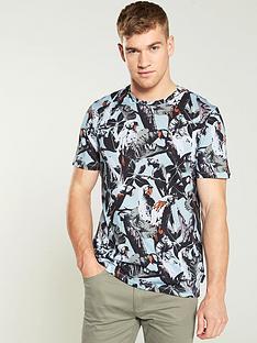 ted-baker-parrot-print-t-shirt-blue