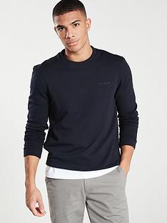 ted-baker-branded-sweatshirt-navy