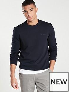 ted-baker-branded-sweatshirt-navy