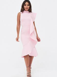 lavish-alice-lavish-alice-extreme-frill-peplum-hem-scuba-midi-dress
