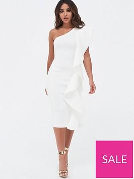 lavish-alice-one-shoulder-scuba-exaggerated-frill-midi-dress-white