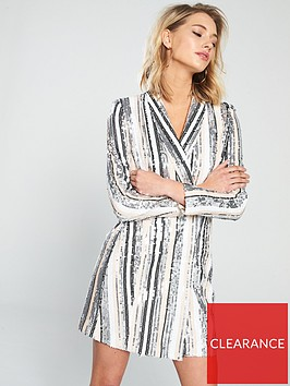 forever-unique-antares-sequin-blazer-dress-nude