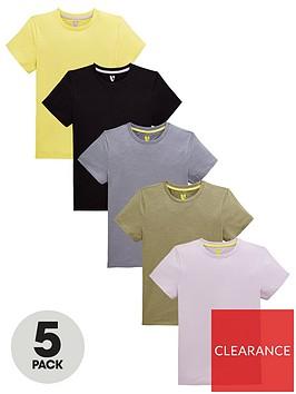 v-by-very-boys-5-pack-short-sleeve-t-shirts-multi