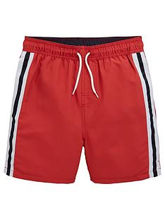 v-by-very-boys-side-stripe-tape-swim-shortsnbsp--red