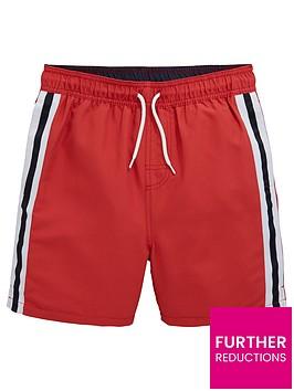 v-by-very-boys-side-stripe-tape-swim-shortsnbsp--red