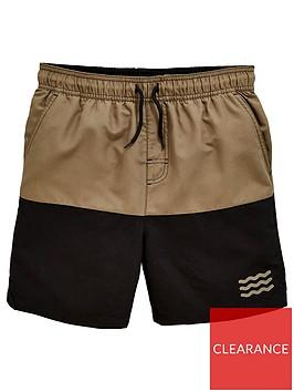 v-by-very-boys-colour-block-swim-shorts-blackkhaki